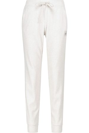 alo Muse ribbed-knit sweatpants