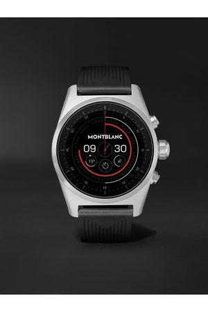 Mont Blanc Summit Lite 43mm Aluminium and Nylon Smart Watch, Ref. No. 128410
