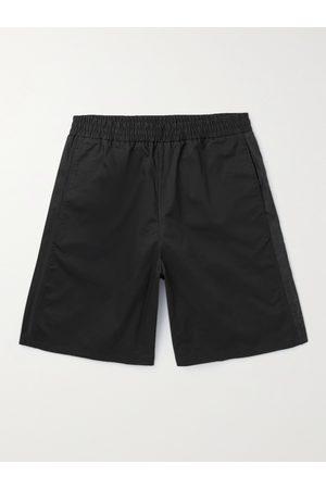 Moncler Men Shorts - Stretch-Cotton Twill Shorts