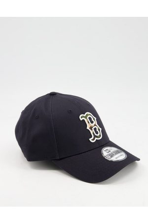 New Era 9FORTY Boston Red Sox baseball cap with camo B in navy