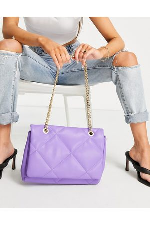 ASOS Crossbody bag with shoulder strap in diamond quilt