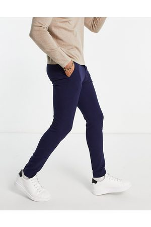 ASOS Super skinny smart trouser in navy