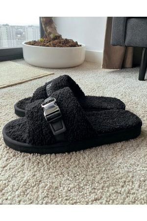 ASOS ASOS Unrvlled Supply slipper in borg with hardware