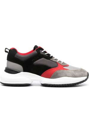 Hogan Colour-block low-top sneakers