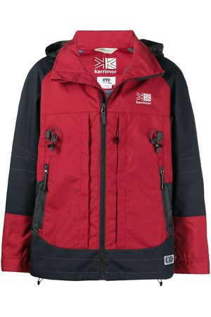 JUNYA WATANABE Men Coats - X Karrimor K-Way backpack coat