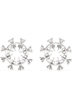 D'heygere Crystal-embellished stud earrings