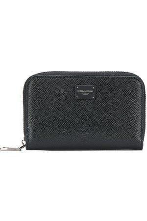 Dolce & Gabbana Logo patch continental wallet