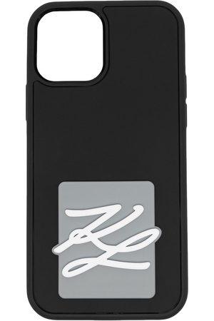 Karl Lagerfeld Karligraphy logo iPhone 12 case