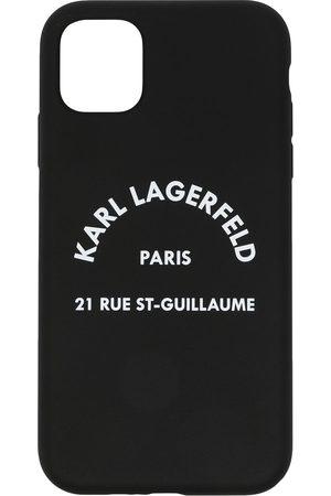 Karl Lagerfeld Logo print iPhone 11 case