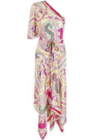 Etro Paisley-print asymmetric dress