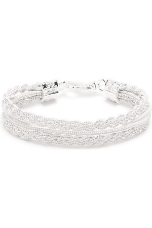 EMANUELE BICOCCHI Men Bracelets - Ice braided bracelet