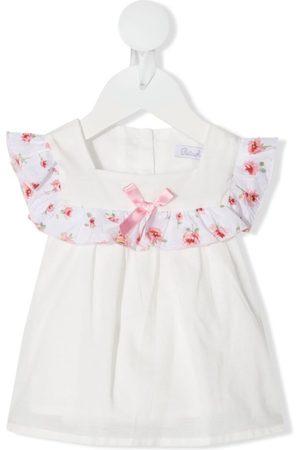 PATACHOU Ruffle-trim cotton blouse