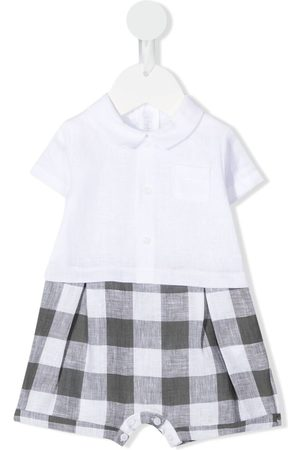 Il gufo Check-pattern shorties