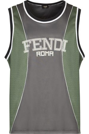 Fendi Logo-print vest top