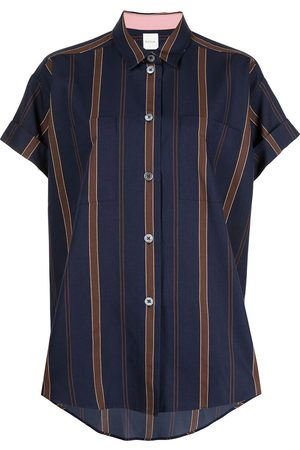 Paul Smith Wide stripe-print short-sleeved shirt