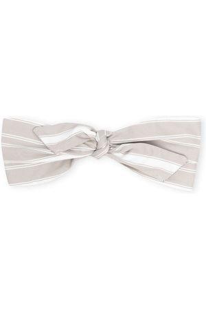 Brunello Cucinelli Stripe-print knotted headband