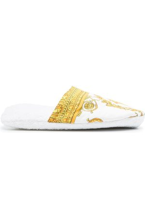 VERSACE Medusa head-print slippers