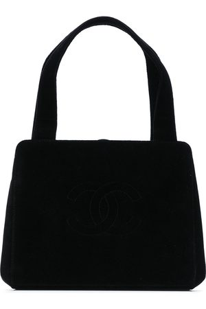 CHANEL 1998 CC stitch tote bag