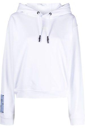 McQ Graphic-print cotton hoodie