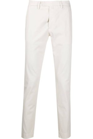 BRIGLIA Cotton chino trousers
