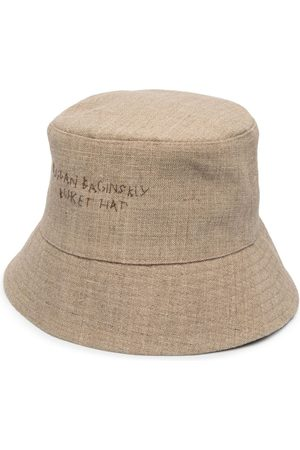 Ruslan Baginskiy Embroidered-logo bucket hat