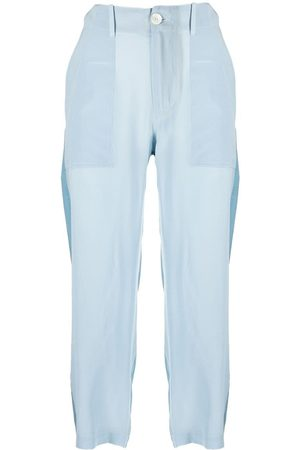 JEJIA Panelled cropped trousers