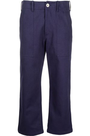 JEJIA Cropped flared cotton trousers