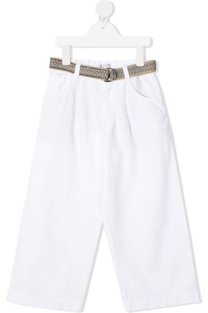 Brunello Cucinelli Belted cotton trousers