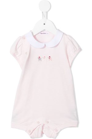 Familiar Baby Rompers - Embroidered cotton body