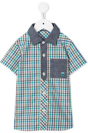 Familiar Boys Tops - Check-print shirt