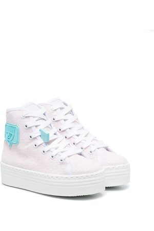 Chiara Ferragni Girls Sneakers - Eyelike logo sneakers