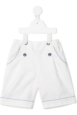 Familiar Boys Shorts - Anchor-motif shorts