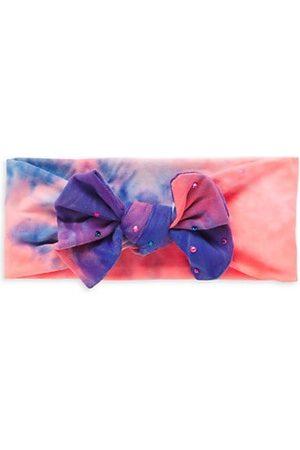 Bari Lynn Girl's Tie Dye Bow Headband