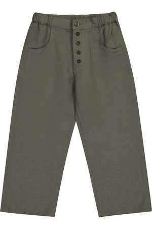 Caramel Barnacle linen and cotton pants