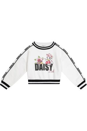 MONNALISA X Disney® cotton-blend sweatshirt
