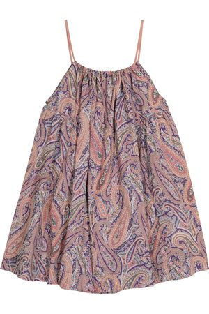 Caramel Cone Fish paisley cotton dress
