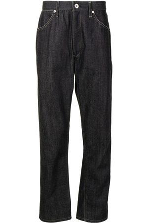Jil Sander Men Straight - Logo patch straight-leg jeans