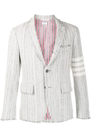 Thom Browne Men Blazers - Tweed single-breasted blazer