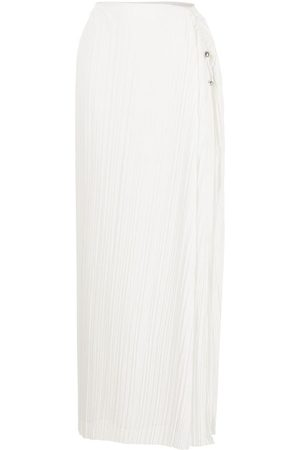 DION LEE Pleated maxi skirt