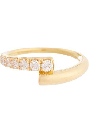 Melissa Kaye Lola 18kt ring with diamonds