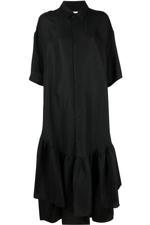 Ami Women Casual Dresses - Ruffle-detailing shirtdress