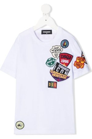 Dsquared2 Multi-logo patches T-shirt