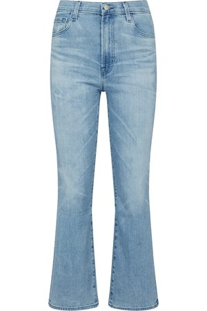 J Brand Women Bootcut & Flares - Franky high-rise bootcut jeans