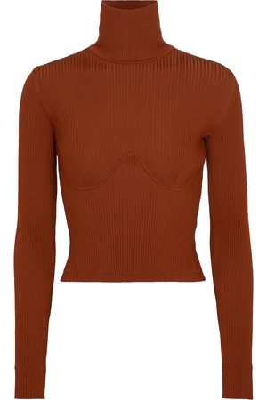 GABRIELA HEARST Women Jumpers - Russel ribbed-knit turtleneck sweater