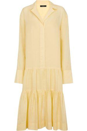 Joseph Women Casual Dresses - Dan ramie shirt dress