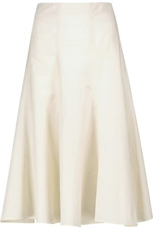 Joseph Sanne cotton and hemp midi skirt