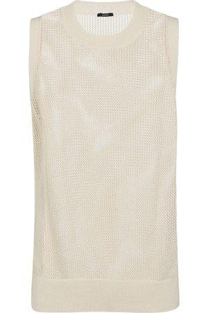 Joseph Crispy cotton sweater vest