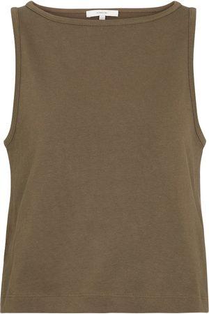 Vince Women Tank Tops - Cotton tank top