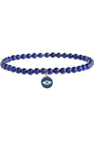 Sydney Evan Women Bracelets - 14kt gold charm bracelet with lapis