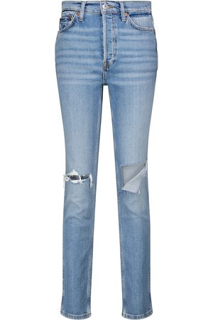 RE/DONE 80s high-rise slim jeans